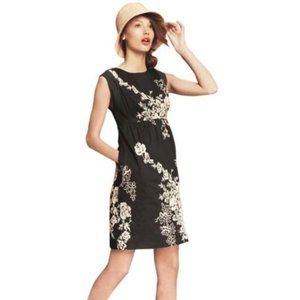 J. Crew Mirabel Embroidered Lined Cocktail Dress
